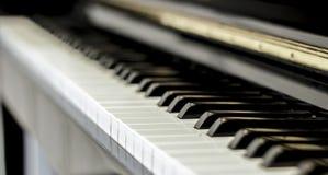 Рояль клавиатуры музыки Стоковые Изображения RF