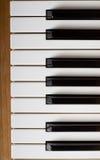 рояль клавиатуры Стоковое Фото
