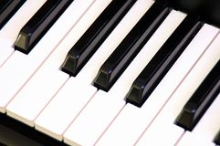 рояль клавиатуры Стоковое Изображение