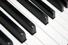 рояль клавиатуры Стоковые Фото