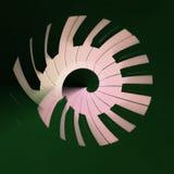 Рояль пользуется ключом абстрактная картина круга Стоковые Фотографии RF