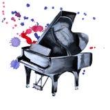 Рояль аппаратуры музыкальные белизна изолированная предпосылкой n бесплатная иллюстрация