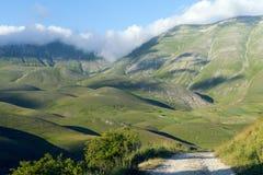 Рояль Большой di Castelluccio (Италия) Стоковое фото RF