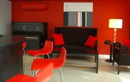 Рояль в живущей комнате Стоковые Изображения RF