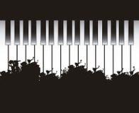 Рояль бесплатная иллюстрация