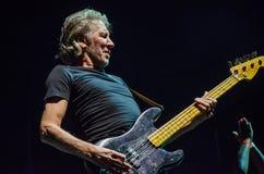 Роджер мочит басовую гитару Стоковое фото RF