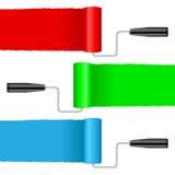Ролики краски Стоковые Изображения RF