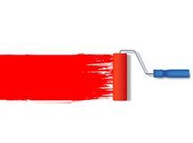 Ролик краски вектора реалистический Стоковое фото RF