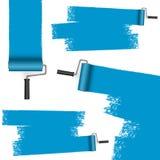 ролик краски с маркировками иллюстрация вектора