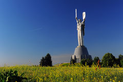 Родина матери статуи Киева Стоковое Изображение