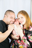 Родители и сынок Стоковое Изображение RF