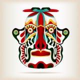 Родная индийская американская маска стиля Стоковая Фотография