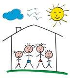 Родной дом Стоковая Фотография RF