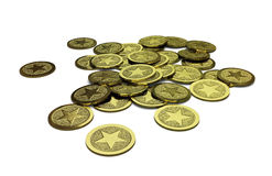 Родовая куча монеток Стоковые Фотографии RF