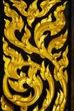Родовая тайская скульптура искусства Стоковая Фотография