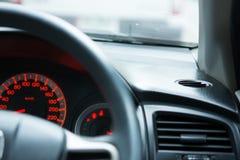 Родовое фото человека управляя автомобилем Стоковые Изображения RF