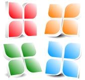 Родовой значок, элемент дизайна в 4 цветах Стоковая Фотография