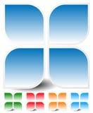 Родовой значок, элемент дизайна в 4 цветах Стоковое Изображение RF