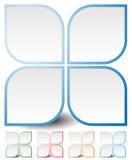Родовой значок, элемент дизайна в 4 цветах Стоковые Изображения RF