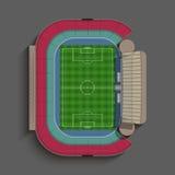 Родовой футбольный стадион Стоковое Фото