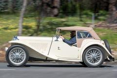 Родстер 1949 MG TC Стоковое Изображение