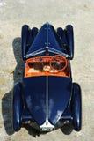Родстер SC Корсики Bugatti 57 - интерьер аллигатора кожаный Стоковое Изображение RF