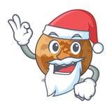 Ртуть plenet Санта изолированная в талисмане иллюстрация штока