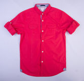рубашка или рубашка детей на предпосылке Стоковые Фотографии RF