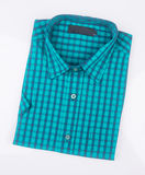 рубашка или рубашка платья человека на предпосылке Стоковые Фотографии RF