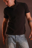 рубашка поло 2 джинсыов Стоковое Изображение RF