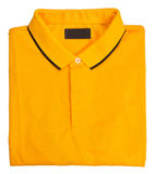 Рубашка рубашка поло людей на предпосылке Стоковое фото RF