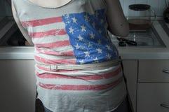 Рубашка США Стоковая Фотография