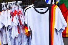 Рубашка футбольных болельщиков стоковая фотография rf