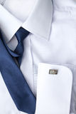 Рубашка человека белая Стоковое Изображение
