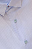 Рубашка людей голубая Стоковые Изображения RF