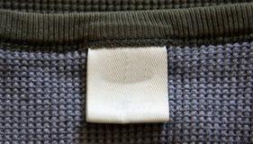рубашка ярлыка Стоковое фото RF