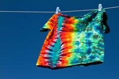рубашка clothesline Стоковая Фотография RF