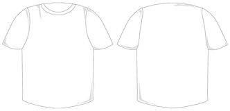 рубашка t Стоковые Изображения RF