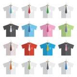 Рубашки и связи бесплатная иллюстрация