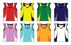 Рубашки корзины Стоковое Изображение