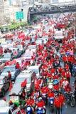 рубашки красного цвета ratchaprasong Стоковая Фотография RF