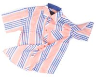 рубашки рубашки моды людей на предпосылке Стоковое Фото