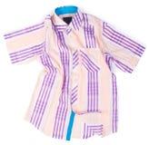 рубашки рубашки моды людей на предпосылке Стоковое Изображение RF