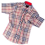 рубашки рубашки моды людей на предпосылке Стоковая Фотография