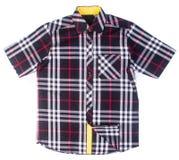 рубашки рубашки моды людей на предпосылке Стоковое фото RF