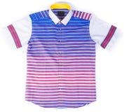 рубашки рубашки моды людей на предпосылке Стоковая Фотография RF