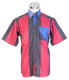 рубашки рубашки человека на манекене стоковые фотографии rf