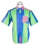 рубашки рубашки человека на манекене стоковое изображение