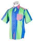 рубашки рубашки человека на манекене стоковое изображение rf