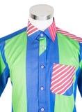 рубашки рубашки человека на манекене стоковое фото rf